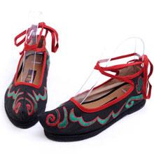 汉舞布鞋2013经典女鞋样品