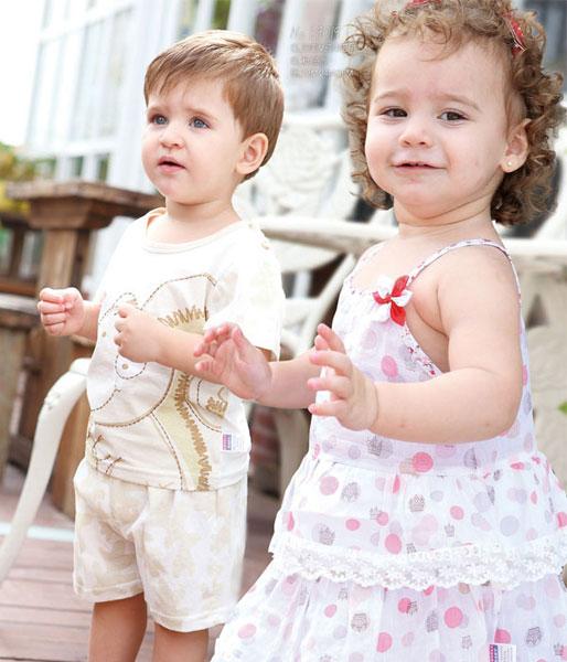 莱利贝比lovely baby春夏婴童装样品