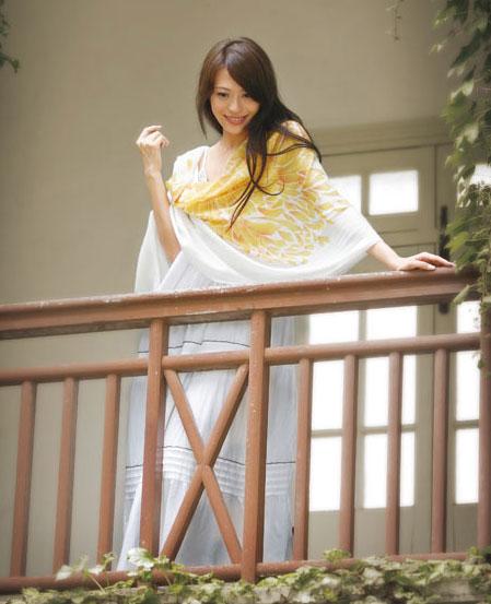 絕代佳人CHINA BEAUTY經典絲綢圍巾樣品