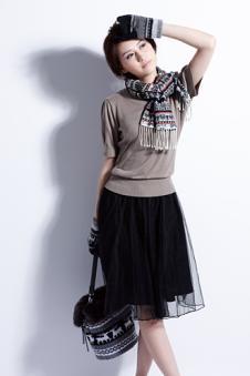 白井SHIRAI服饰配饰品牌样品围巾