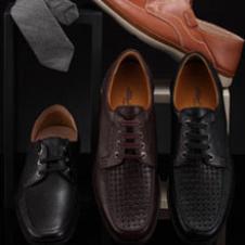 斯丹Sidan鞋业品牌男鞋样品