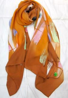千禧围巾丝巾34192款