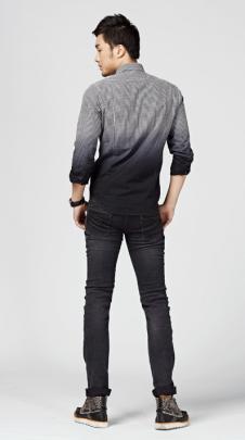 G5G6牛仔品牌服飾樣品男裝牛仔褲