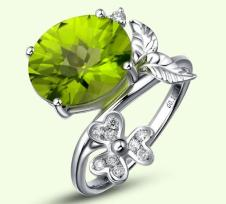阿兰朵Alano经典珠宝首饰戒指