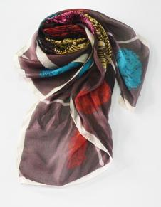 丝之吻围巾丝巾36354款