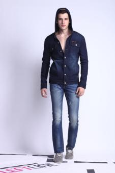 左线LEFT2012春夏牛仔服饰样品男装牛仔裤