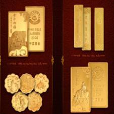 中国黄金珠宝首饰样品