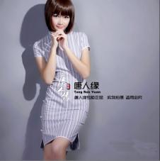 唐人缘TANG FATE2013春夏女装品牌服饰样品旗袍