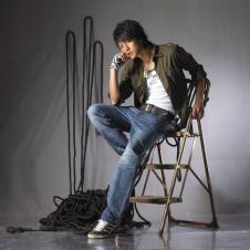 艾格龍agloong牛仔品牌服飾樣品男裝牛仔褲