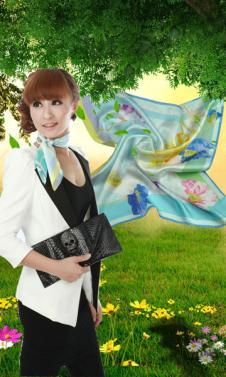 臣臣ChenChen服饰配饰品牌样品丝巾