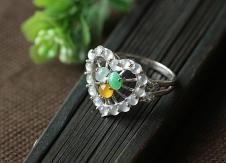 纯翠依人CHUNCUI经典珠宝首饰戒指