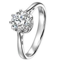 六桂福LUKKWAIFOOK经典珠宝首饰戒指