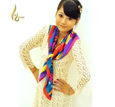 艺华围巾丝巾34414款