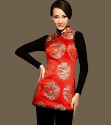 木真了MOZEN CHINA女装品牌服饰样品旗袍