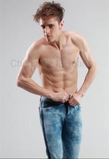 圣杰路SHENGJIELU牛仔服饰样品男装牛仔裤