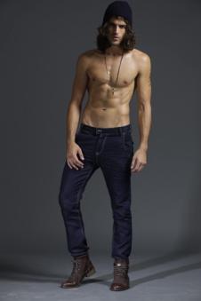 萬純WANCHUN牛仔服飾樣品男裝牛仔褲