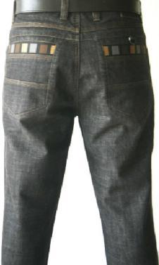 久鹿JOECEDR休闲品牌服饰样品男装牛仔裤