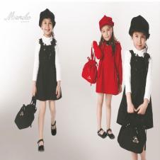 樱桃小丸子chibi maruko chan童装女裙