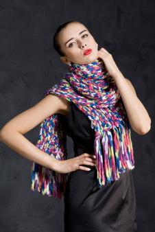 艾维斯围巾丝巾36441款