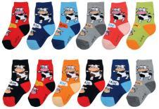 小龙人袜子35022款