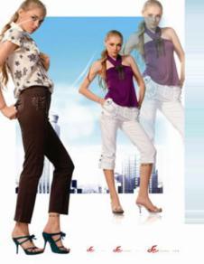 立源丰LIYUANFENG2012牛仔品牌服饰样品牛仔裤