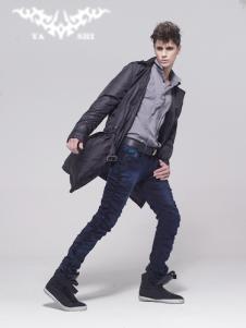 亚仕牛仔YA SHI牛仔品牌服饰样品男装牛仔裤