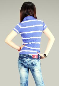 N-6恩路牛仔品牌服饰样品女装牛仔裤