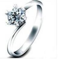 百年六福BNLF经典珠宝首饰戒指