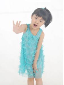 精灵虫Feairy dust童装品牌服饰样品女裙