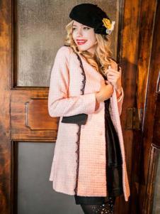 蜜思罗雅MISSROYAL女装粉色外套