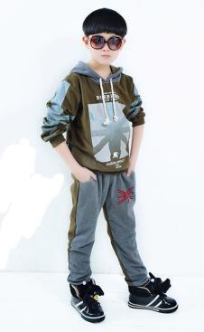 小福星童装品牌服饰样品外套