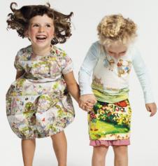 欧琪达Archie&Rita2013春夏装童装品牌服饰样品女裙