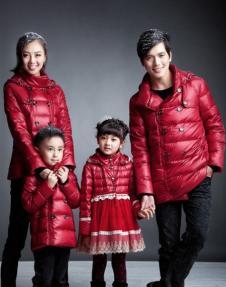 卡拉贝贝carababy2012秋冬亲子装服饰样品外套