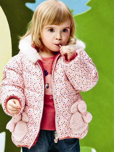 爱儿赫玛Erherme童装粉色外套