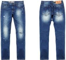 时尚个性牛仔裤