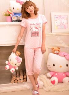 凯蒂猫睡衣132387款