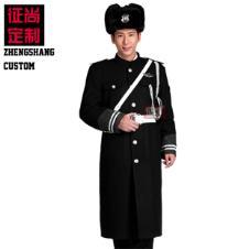 安保物业保安军大衣