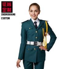 高档物业女保安工作服
