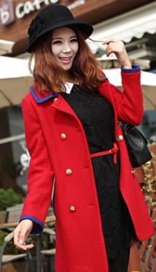 一华正红女装136821款