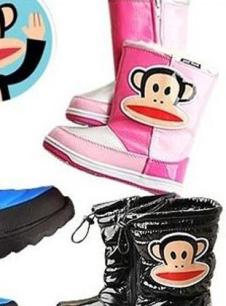 大嘴猴童装大嘴猴冬季棉鞋童鞋