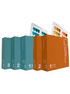 PANTONE彩通 塑胶不透明色与透明色选色手册 塑胶配色套装PPTQ100