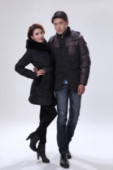 寒鹭2013羽绒服样品