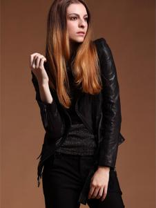 蜜思罗雅MISSROYAL女装黑色小外套