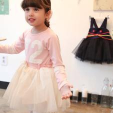 蕾佳妮2014夏季女童连衣裙批发