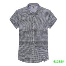 喜登威时尚品牌男装短袖衬衫61238款
