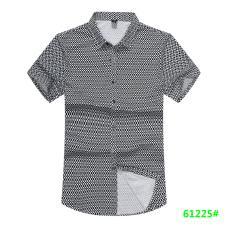 喜登威时尚品牌男装短袖衬衫61225款