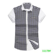时尚品牌男装短袖衬衫11179款