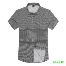 喜登威时尚品牌男装短袖衬衫61223款