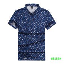 喜登威时尚品牌男装短袖衬衫66156款