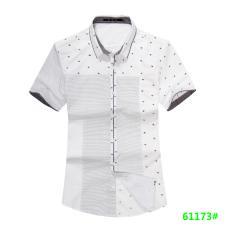 喜登威时尚品牌男装短袖衬衫61173款